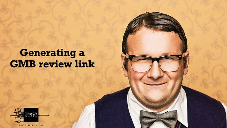 Generating a GMB Review Link.